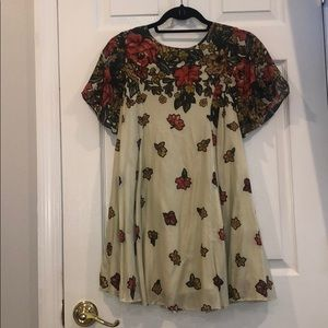 Urban outfitters floral dress!